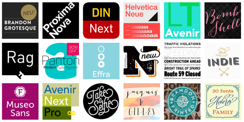 Best Seller Fonts